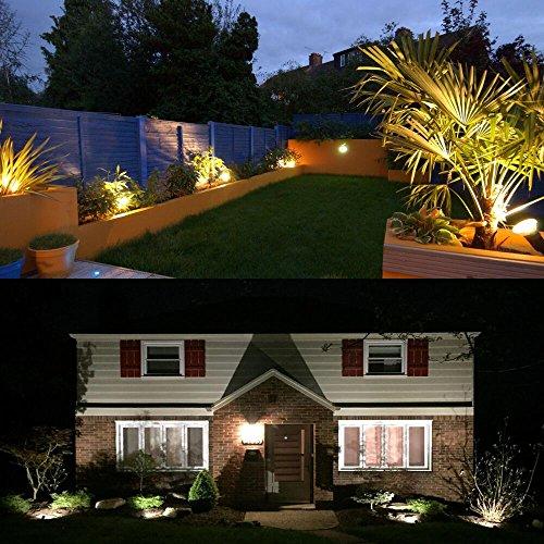 garden path lights. ZUCKEO 5W LED Landscape Lights 12V 24V Waterproof Garden Path Warm White Walls Trees Flags Outdoor T