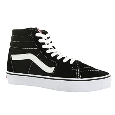 Vans SK8-Hi(tm) Core Classics, Black/White 11 M US Women / 9.5 M US Men
