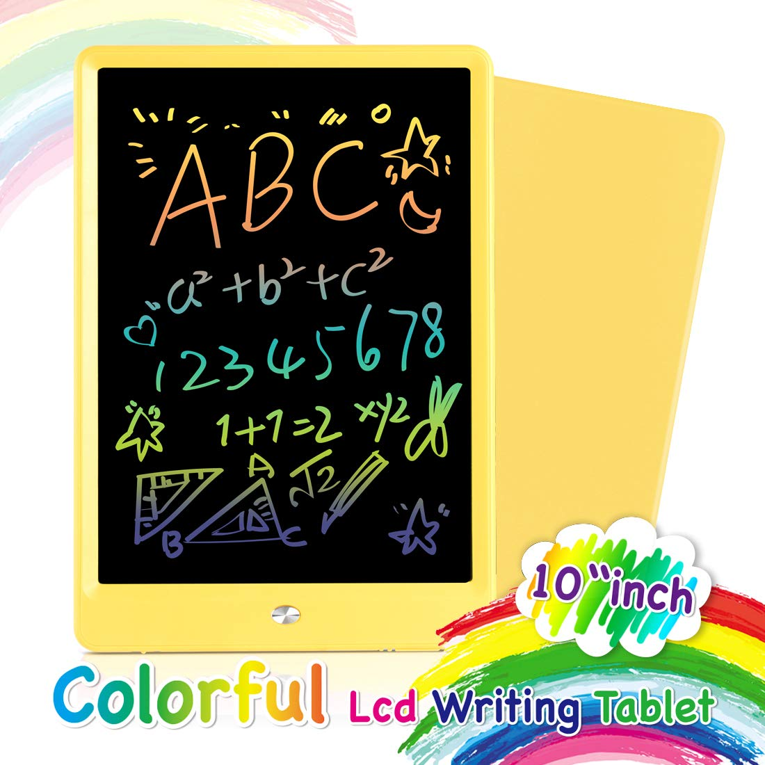 Orsen LCD Writing Tablet 10 Inch Colorful Doodle Board Drawing Tablet Erasable Reusable Writing Pad