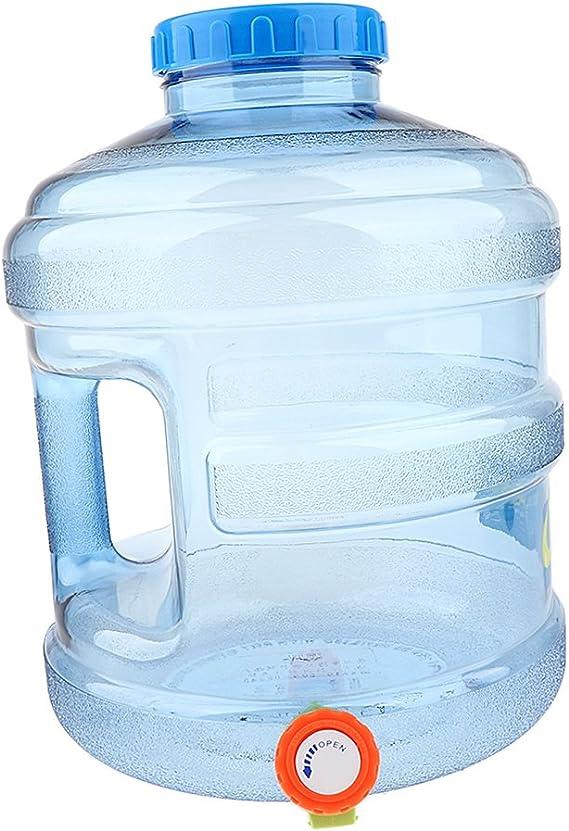 Botella de Agua con Grifo Reutilizable Válvula de ...