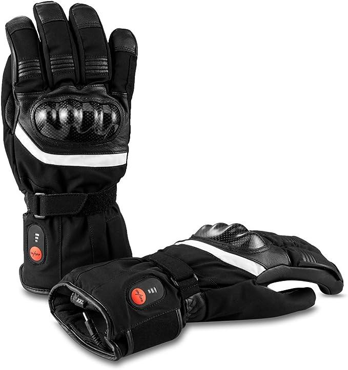 Savior Beheizte Handschuhe Mit Wiederaufladbare Lithium Ionen Batterie Beheizt Für Männer Und Frauen Arbeitet Bis Zu 2 5 6 Stunden Bekleidung