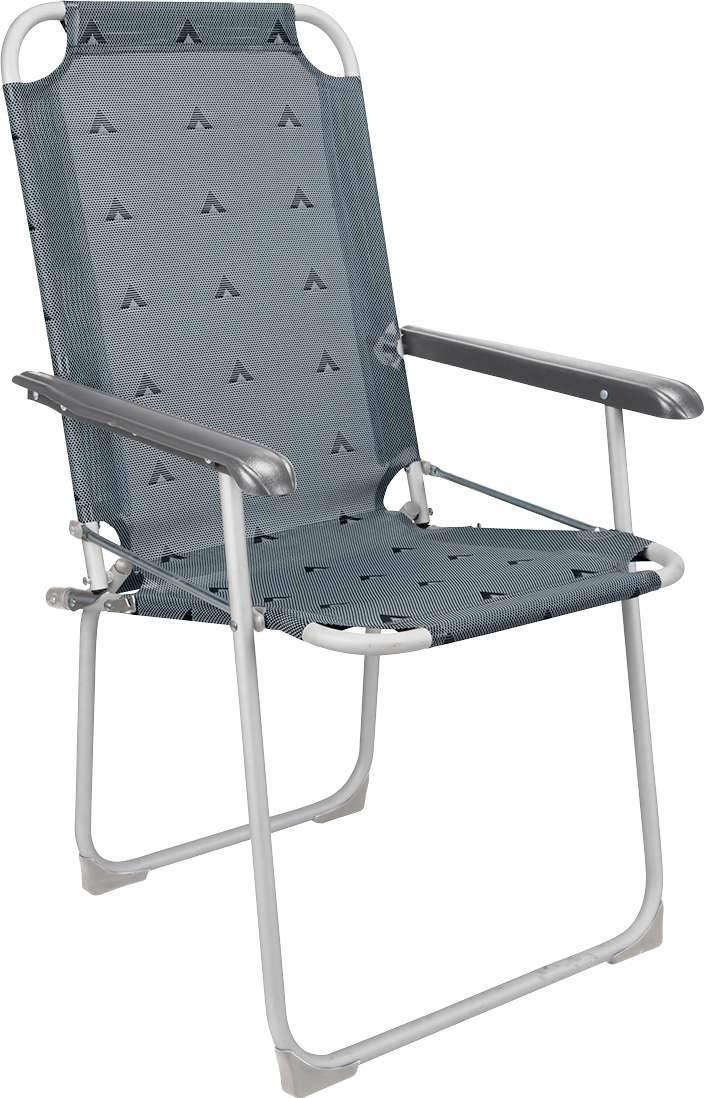 Gewicht nur 2,56 kg bis 100 kg belastbar Campingstuhl Klapphocker Berger Klappstuhl Classic grau Aluminium
