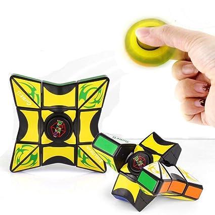 Amazon.com: Fidget Toy 1x3x3 Magic Cube Puzzle Training ...