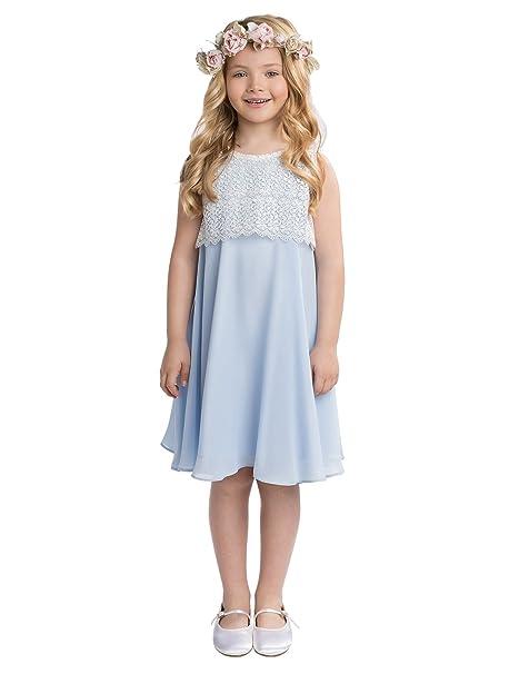 Paisley of London - Vestido - para niña azul azul 2-3 Años
