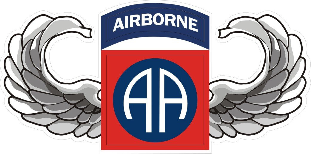 amazon com militarybest us army 82nd airborne jump wings decal