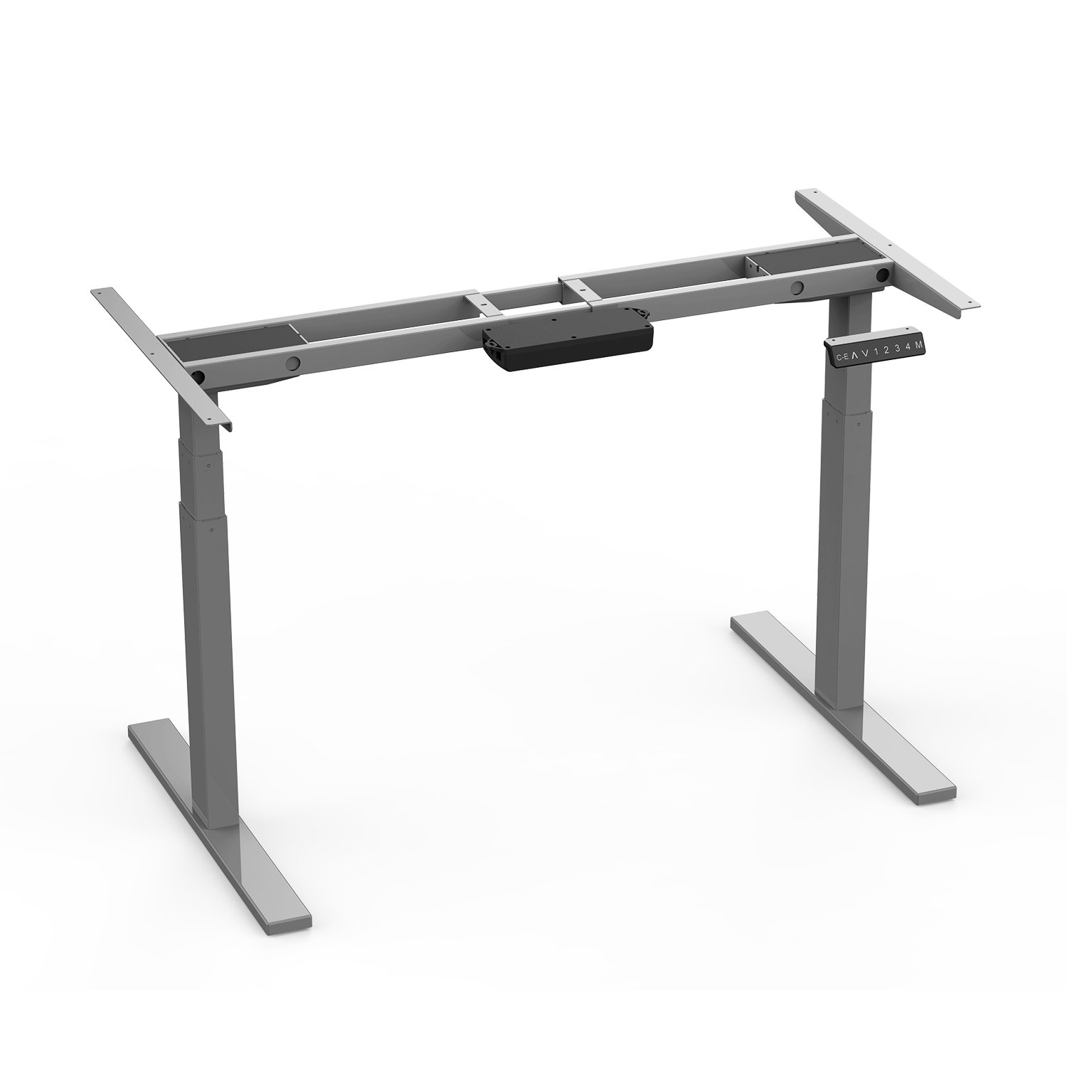AIMEZO Smart Desk 3 Tiers Legs Electric Adjustable Desk Base Standing Workstation Sit to Stand Up Desk Frame w/Dual Motor and One-Touch Memory Control by AIMEZO