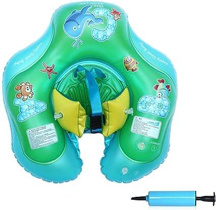 Amazon.com: COBUSH - Flotador inflable para bebé, cinturón ...