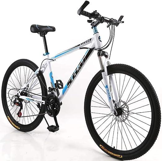 F-JWZS 21 Velocidades Unisexo Bicicleta de Montaña, 26 Pulgadas ...