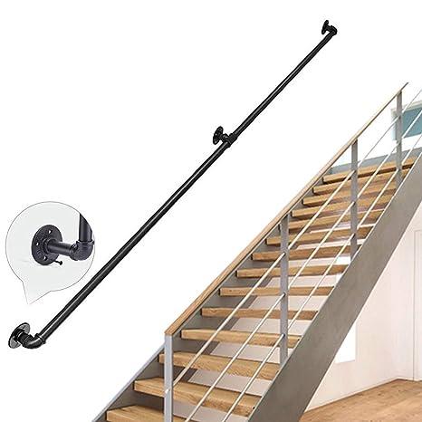 JUN-Handrails Rampe d\'escalier Industrielle Rustique en ...