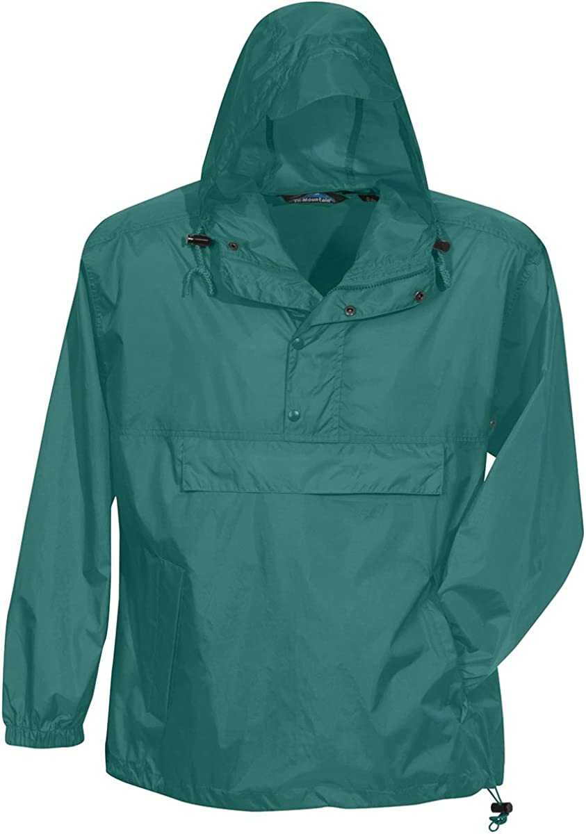 TRM Mens Nylon Navigator Water Resistant Hooded Shell Jacket 8 Colors, S-6XL