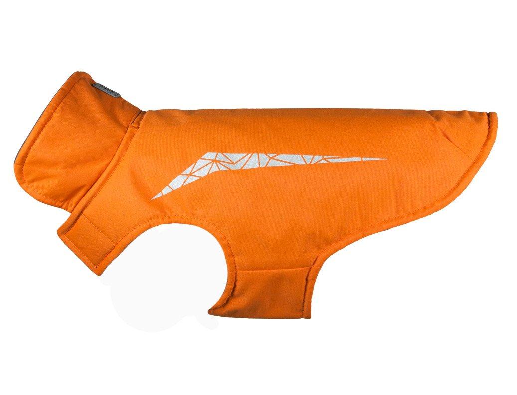 RC Pet Products Cascade Jacket Fleece Lined Water Resistant Dog Coat, Size 26, Burnt Orange