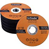 """GoYonder 50 Pack 4.5"""" Cutting Wheel for Metal,Stainless and Steel 4-1/2"""" x 0.045 x 7/8-Inch Ultra Thin Cut-Off Wheel for…"""