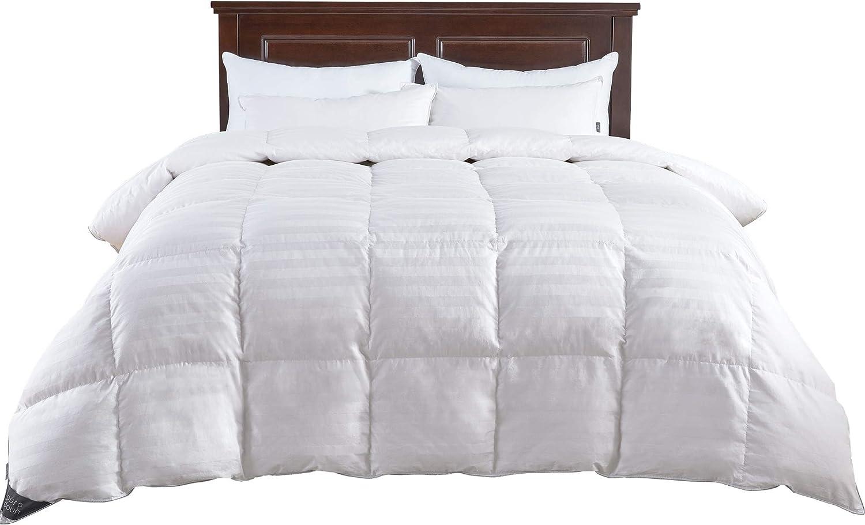 Amazon Com Puredown Comforter Full Queen Cotton Shell 500tc