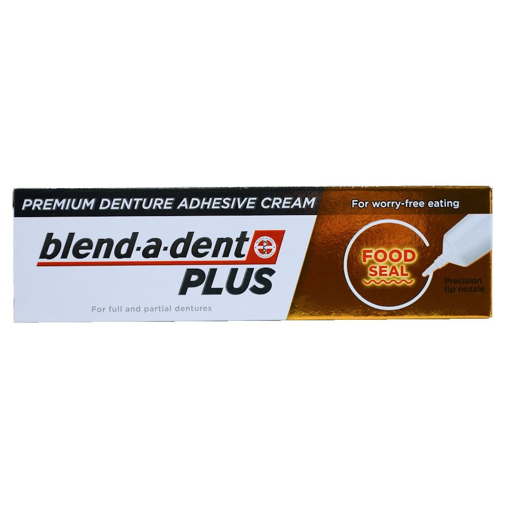 German blend-a-dent PLUS Premium Denture Adhesive Cream FOOD SEAL 40g Procter & Gamble