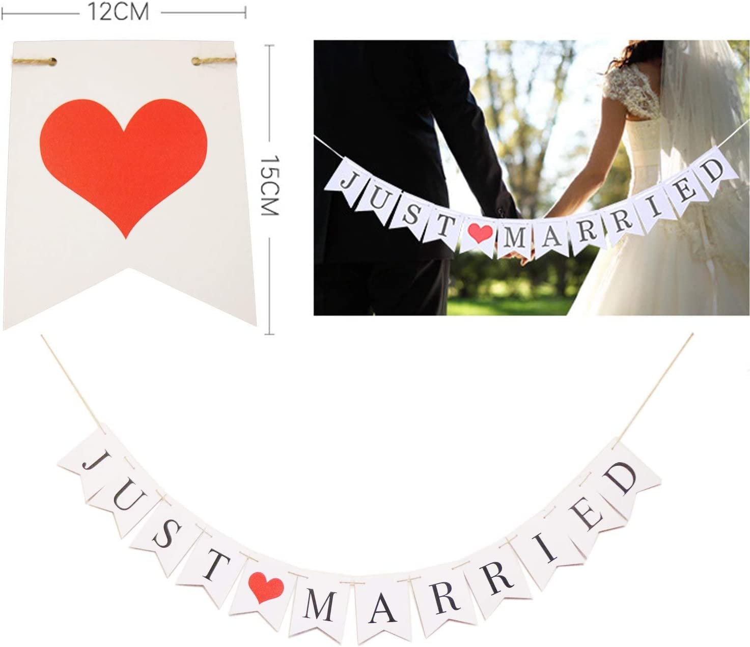 Personalised Flashing LED wedding banner just married  MR /& MRS sign bunting