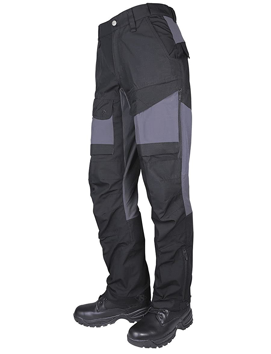 Tru-Spec 1436 24-7 Men's Xpedition Pants, Rip-Stop, Black and Gray Altanco