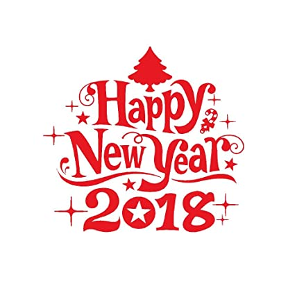 christmas wall sticker hmlai 1pcs 2018 happy new year merry christmas wall sticker home shop