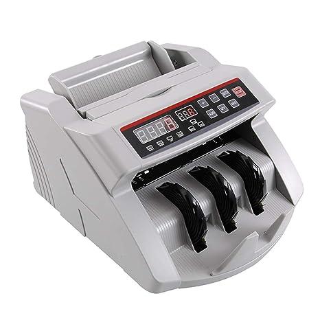 Contadores de billetes Detector de Dinero Contador de Billetes Moneda multinacional Contador de Dinero Detector Inteligente