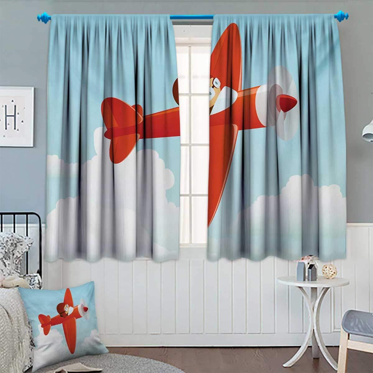Amazon.com: Cortina de ventana para niños con diseño de ...