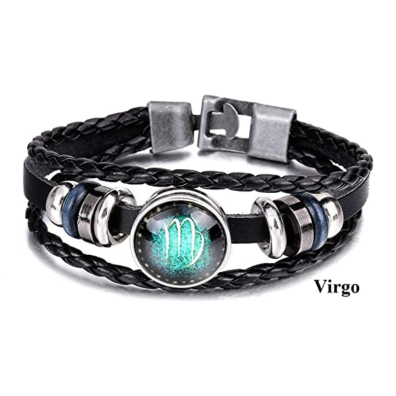 Amazon com: Fashion Luminous Glow in The Dark Zodiac 12