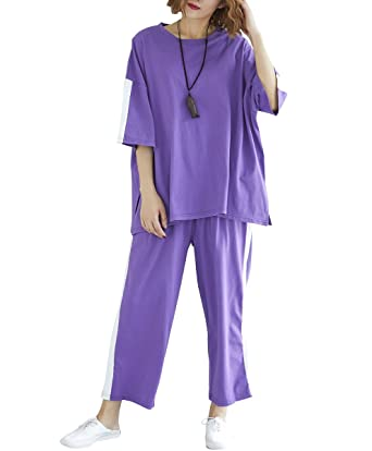ELLAZHU Women Fashion Sports Casual Suits GA1242