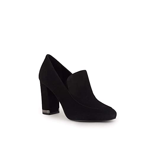 4083cb90ecc Michael Kors Women s Decolletè Heels Shoe Valerie Loafer Suede 40F8VAHP1S  Black  Amazon.co.uk  Shoes   Bags