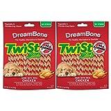DreamBone Chicken Twist Sticks Dog Chews, 50- Count – 2 Pack For Sale