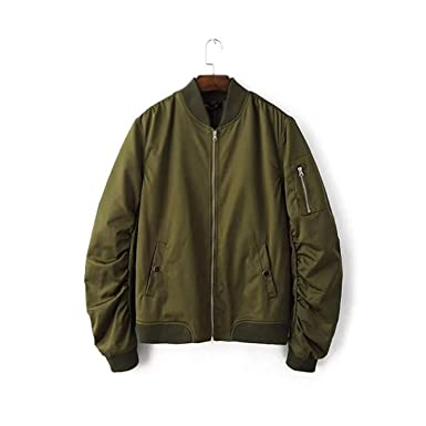 Amazon.com: Women Pilots Jacket Coats Outerwear Femme Bomber ...