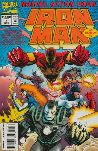 Marvel Action Hour, Featuring Iron Man, Edition# 1