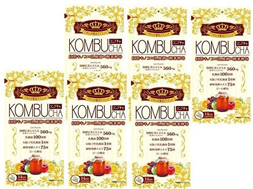 ユーワ KOMBUCHA コンブ茶 42粒 X6個セット B07BTHC7MQ