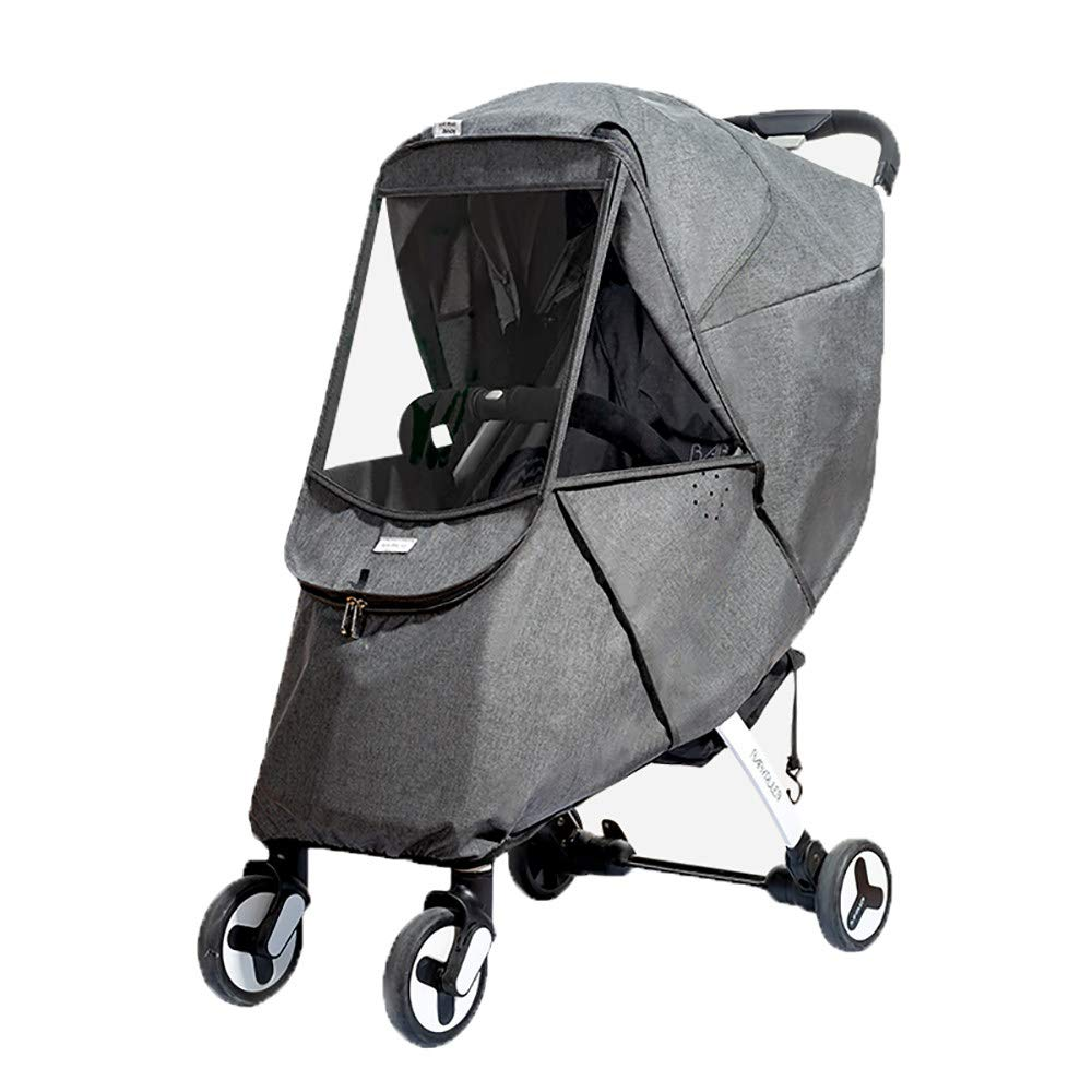 Baby Stroller Sun Shade Canopy,Universal Baby Sunshade,Zippered Infant Insect Netting Cover Awning Waterproof and Windproof