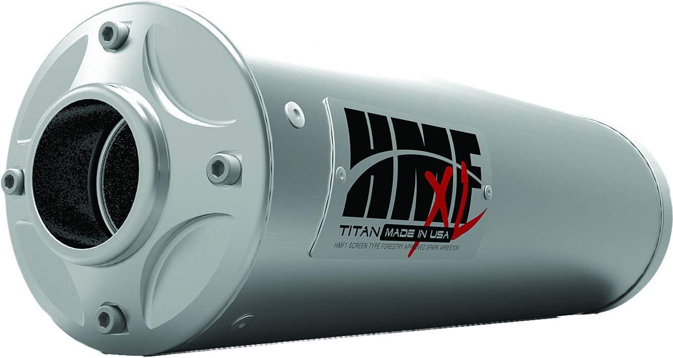 2015 titan xl slip on exhaust muffler
