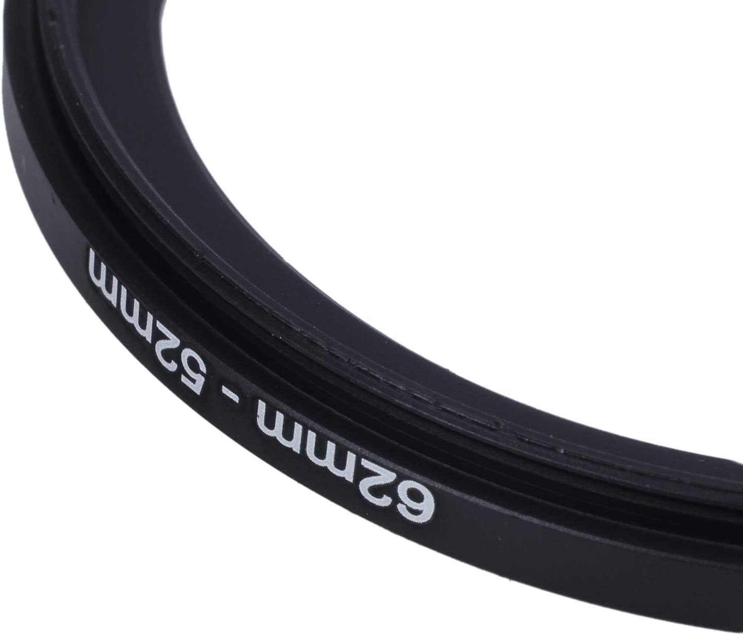 Iycorish 62mm-52mm 62mm to 52mm Black Step Down Ring for Camera