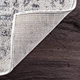 "nuLOOM Arlena Vintage Area Rug, 8' 2"" x 11' 6"", Grey"