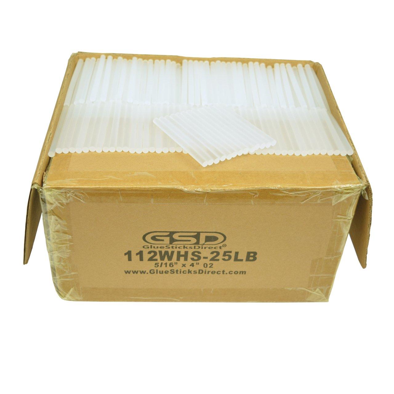 GlueSticksDirect Wholesale Hot Melt Glue Stick Mini X 4'' 25 lbs Bulk by GlueSticksDirect.com