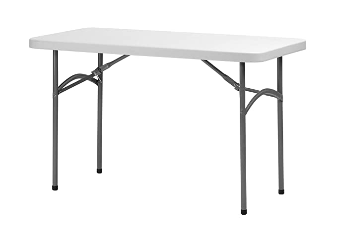 ThinkPro Multipurpose Folding Table for Indoor/Outdoor Use (4'x2', Grey)