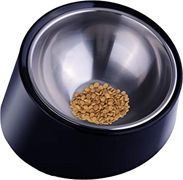 Super Design Mess Free 15° Slanted Bowl For Dogs