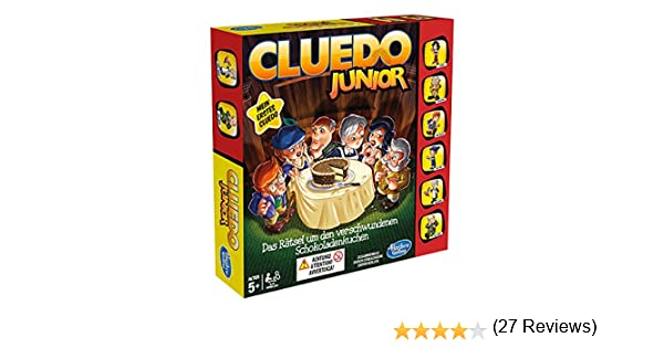 Hasbro Cluedo Junior - Juego de Tablero: Amazon.es: Juguetes y juegos