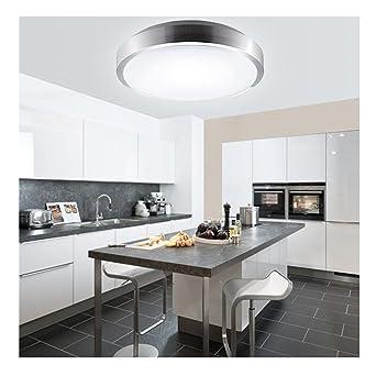MCTECH 15W Kaltweiss LED Deckenleuchte Modern Deckenlampe Flur Wohnzimmer Lampe Schlafzimmer
