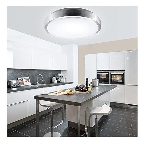 MCTECH 15W Kaltweiß LED Deckenleuchte Modern Deckenlampe Flur Wohnzimmer  Lampe Schlafzimmer (15W Kaltweiß)