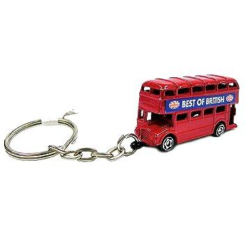 Diecast autobús de Londres Llavero [Toy]