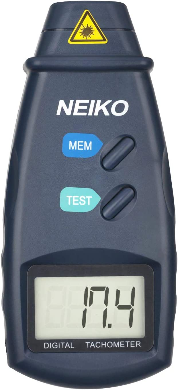 Automatical Switchover Non Contact Laser Digital Photo Tachometer Small Engine