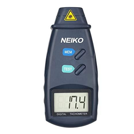 neiko 20713a digital tachometer, non contact laser photo 2 5 99neiko 20713a digital tachometer, non contact laser photo 2 5 99, 999 rpm accuracy batteries included digital tacometer for measuring amazon com