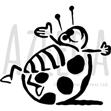 Azeeda Large A2 \'Ladybird\' Wall Stencil / Template (WS00015405 ...