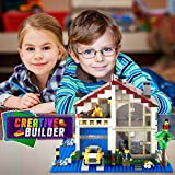 Creative Builders Building Brick Base Plates, 10X10-Inch, 4 Pack
