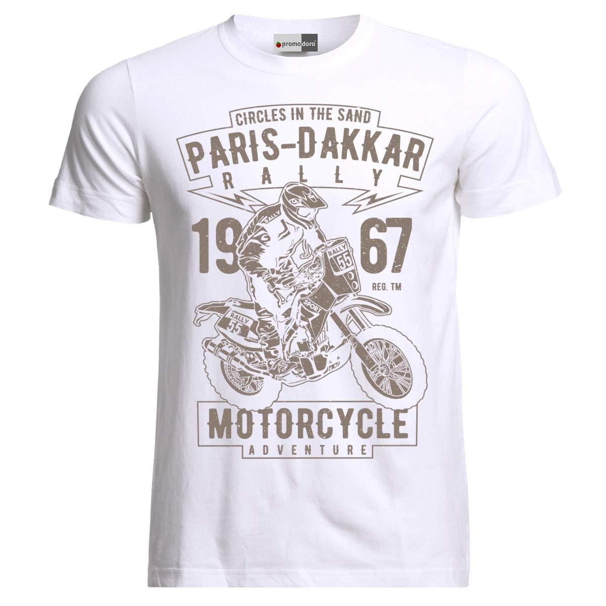 Paris Dakkar Rally Motorcycle Motocross Rider Motorrad Moto T-Shirt