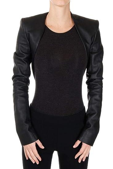 0839893d79b asaavi Womens Lambskin Leather Crop Moto Bolero Shurg Biker Jacket Slim Fit  WJ015 (XS)