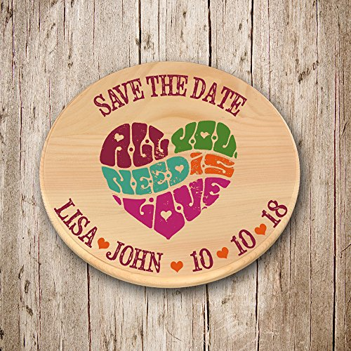 (All you need is love vintage heart Wooden Save the date Magnets, Save the Date Rustic magnets, wood save the date magnets, save the date wooden magnets, save the date magnets for wedding, Set of 20)