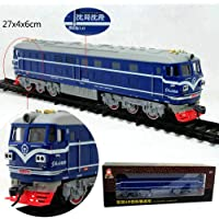 XuBa Music Track Trains Electric Toy Long Rail Cars Classic Children's Toys Train Birthday Christmas Xmas Gift Present for Kids