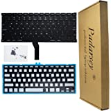 Padarsey Replacement Backlight Backlit Keyboard with 80 pce screws For Apple Macbook Air 13-Inch A1369 A1466 MC965LL MC966LL EMC 2559 MD231LL/A MD760LL/A Series 2011 2012 2013 2014 2015